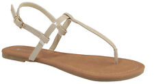 e524f8dd0 item 6 New Women Thong T-Strap Open Toe Slingback Flip Flops Flat Gladiator  Sandal Shoe -New Women Thong T-Strap Open Toe Slingback Flip Flops Flat ...
