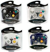 4 Controllers For Nintendo Gamecube Wii Blue,white,black,silver (platinum)