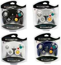 4 NEW CONTROLLERS FOR NINTENDO GAMECUBE Wii BlUE,WHITE,BLACK,SILVER (PLATINUM)
