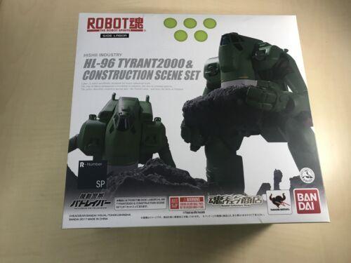 Robot Spirits  Tyrant 2000 /& Worksite Set