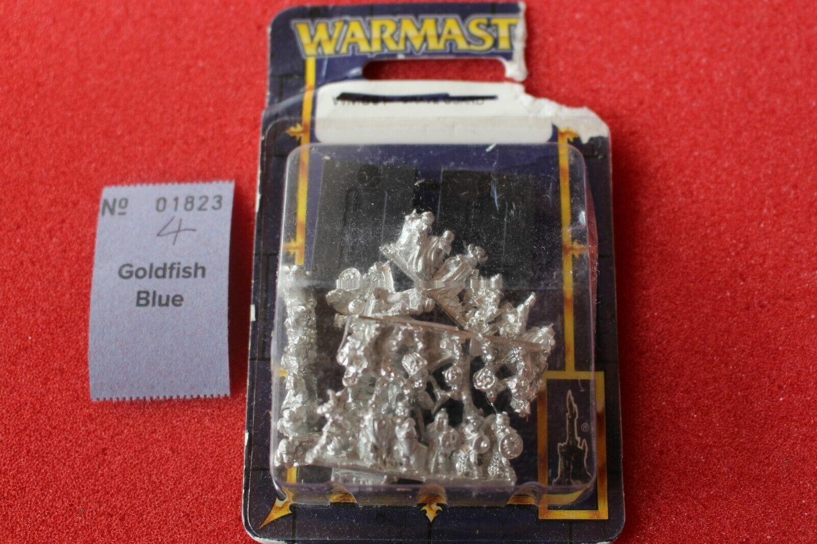Warmaster vampire counts Grave Guard Entièrement neuf dans sa boîte neuf scellé Metal Games Workshop morts-vivants
