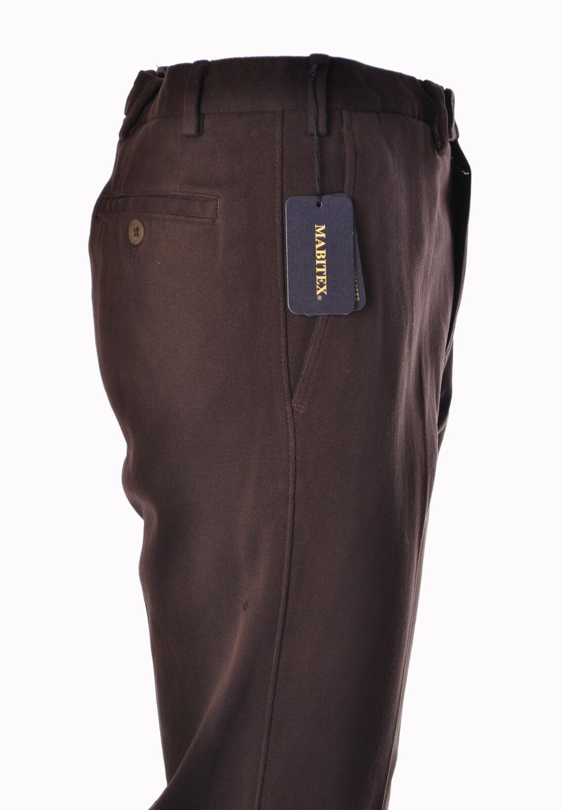 Mabitex  -  Pants - Male - Brown - 2934402A184333