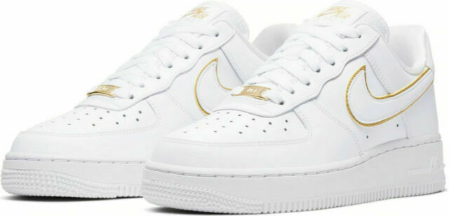 Size 10 - Nike Air Force 1 '07 ESS Metallic Gold 2019 for sale ...