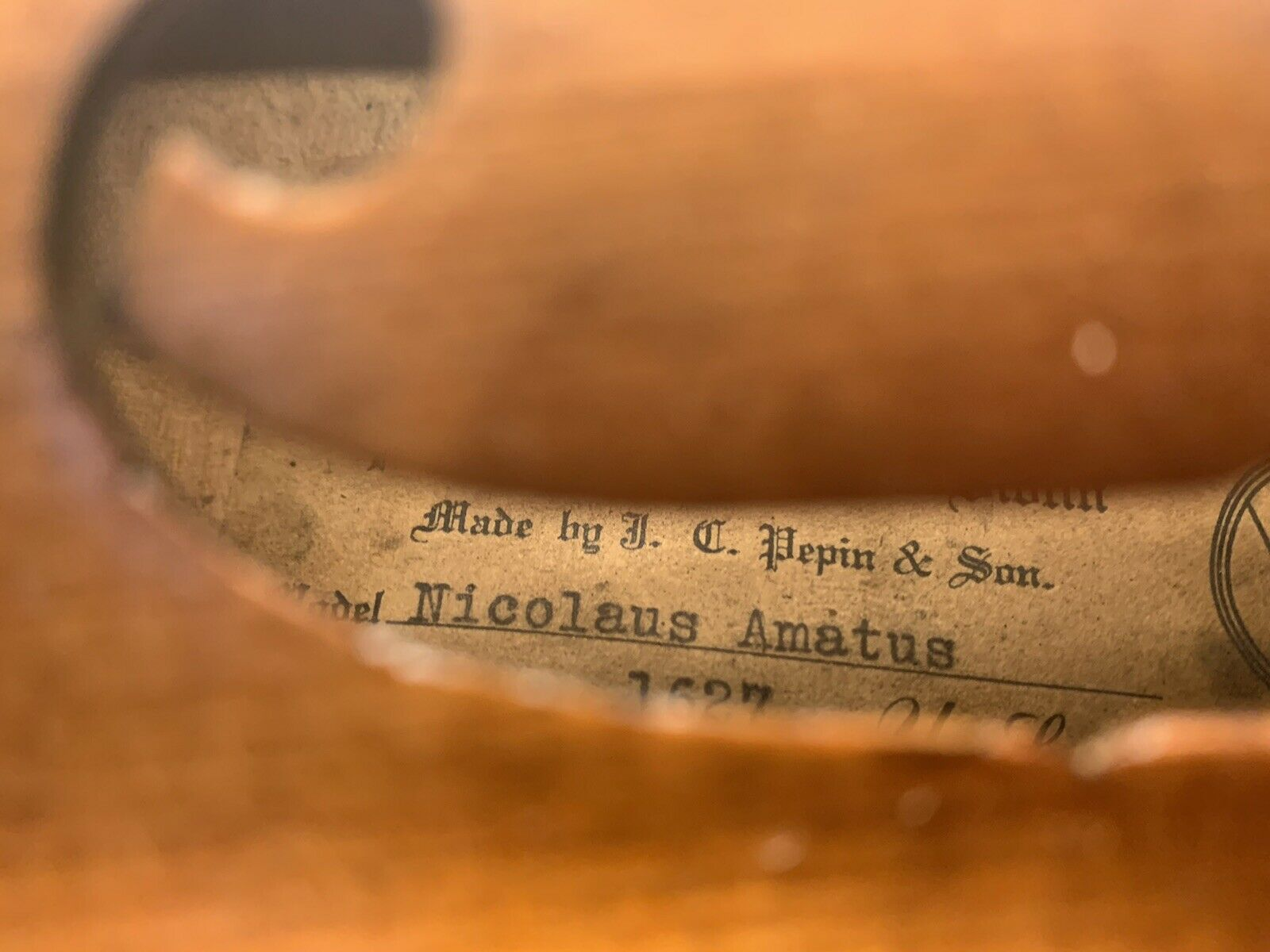 The Pepin Perfect Tone Violin 1926 Instrument Bow And Case Wow This Has Receipts