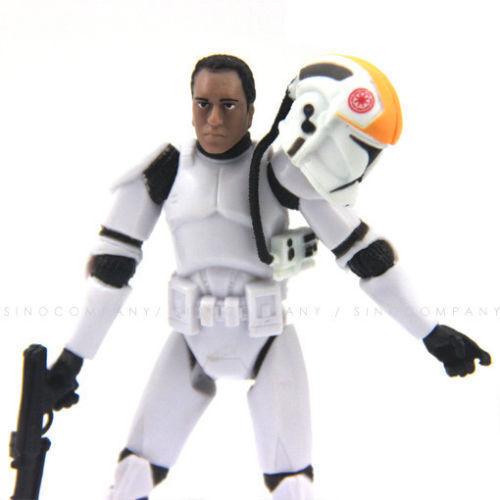 "Star Wars 2005 Clone Pilot TROOPER Darth Vader hasbro action figure 3.75/"" toys"