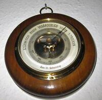 alter Barometer LUFFT 5450 gemarkt Luftdruckmesser Wetterstation