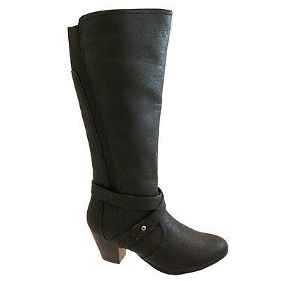 Comfort plus skye bottes hautes noir | eBay