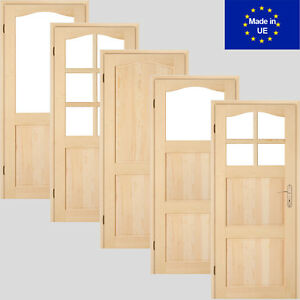 Favorit Holztür London Türflügel Schiebetür Zimmertür Innentür 60/70/80/90 EZ91
