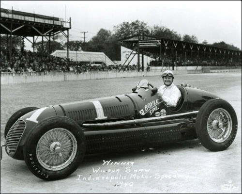 Buy Any 2 Get 1 FREE 1940 Indy 500 Winner Wilbur Shaw #1  Racing Photo 8x10