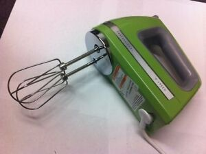 Details about KITCHENAID HAND MIXER 9 SPEED DIGITAL KHM920ga khm9 green  apple
