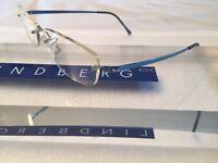 Lindberg Rimless Eyeglass Spirit Titanium Gorgeous Shiny Blue Lb2023 135 Col.p25