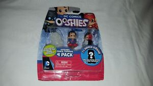 Ooshies-Set-034-DC-Comics-Series-1-034-Pencil-Topper-Action-Figure-4-Pack-New-AP