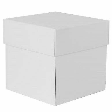 blau RzP Exploding Box Explosionsbox Geschenkbox Schachtel Überraschung 10x10