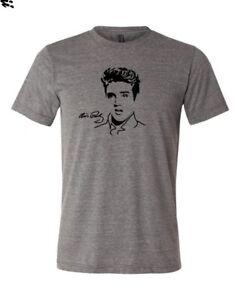 Elvis-Presley-Graceland-Sun-Records-den-Koenig-leichtes-weiches-T-Shirt-Top-xs-4xl