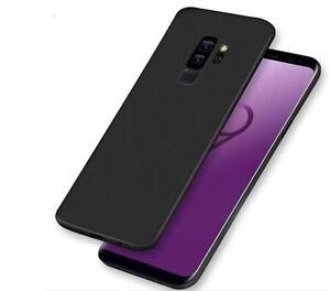 Samsung-Galaxy-S9-Case-Cover-Matte-Black-Gel-TPU-Shockproof-Slim-Protective
