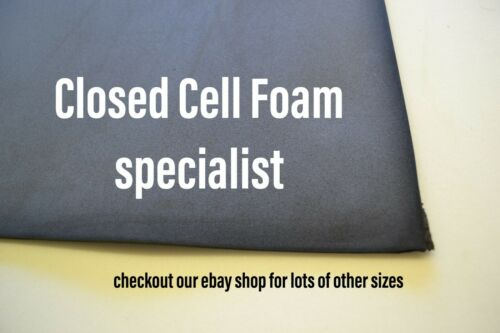 sound proofing /& insulation sheet closed cell foam size 2metre x 1metre x 40mm
