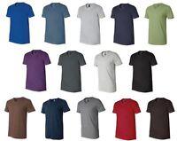 Canvas Bella Unisex Mens SZ XS-2XL Delancey 3005 Short Sleeve V Neck Tee shirt