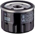 Mann-filter W 77 filtro de aceite