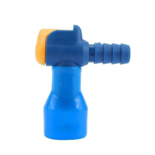 Outdoor Silicone Water Bag 90° Bite-Valve Hydration Pack Nozzle Bladder Blue