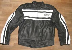 034-WINNET-034-Herren-Motorrad-Lederjacke-Biker-Jacke-in-schwarz-ca-Gr-50-52
