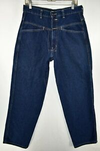 Marithe Francois Girbaud Conico Pierna Pantalones Vaqueros Para Hombre Talla 32x30 Azul Meas 30x30 5 Ebay