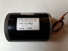 Weldon Fuel Pump Motor 8850 8 Cessna 185