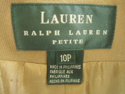 Lined Lauren Tanuld New Petite 10p Ralph Blend Equestrian Jacket frrHEXq
