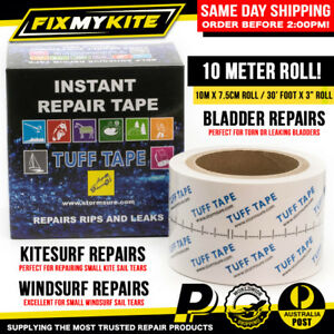 TUFF TAPE 10M / 30ft - INFLATABLE KITE BLADDERS WINDSURF SAILS CANOPY REPAIR