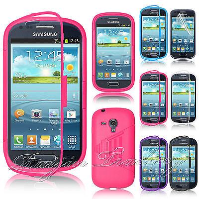 Crystal Clear TPU Gel Silicone Flip Case Cover For Samsung Galaxy S3 Mini i8190