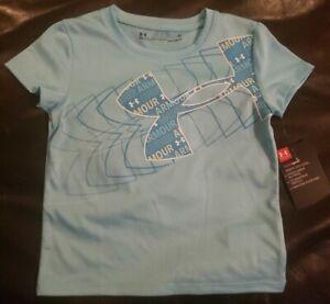 Under Armour HeatGear Girls UA Big Logo Tshirt 1230145 Youth Choose Color//Sizes