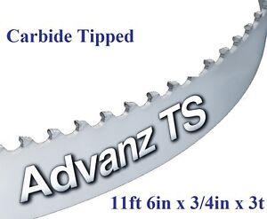 "X 3//4/"" X .032 X 3T CARBON BAND SAW BLADE DISSTON USA 93/"" 7/'9/"""