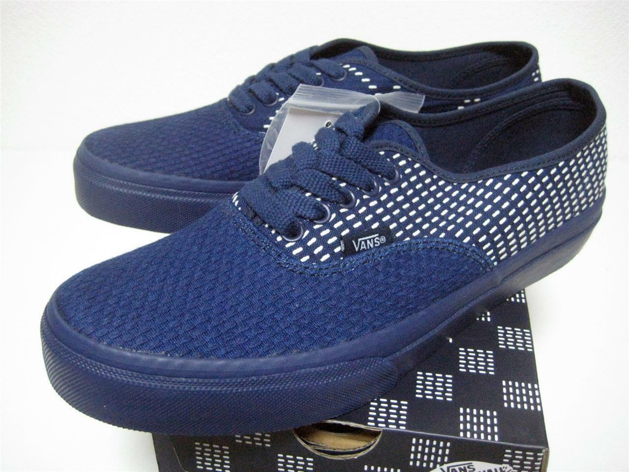 VANS FDMTL AUTHENTIC navy V44CL FUNDAMENTAL from Japan US10.5 brand new