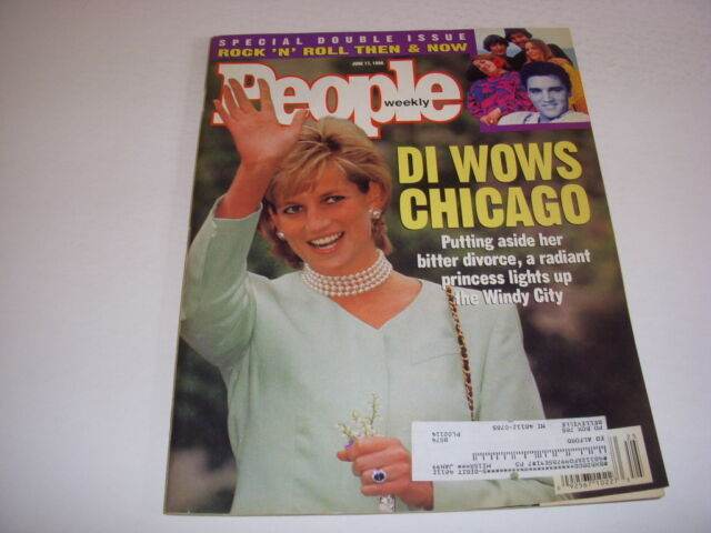 PEOPLE Magazine, June 17, 1996, PRINCESS DIANA Cover, ROCK 'N' ROLL THEN & NOW!