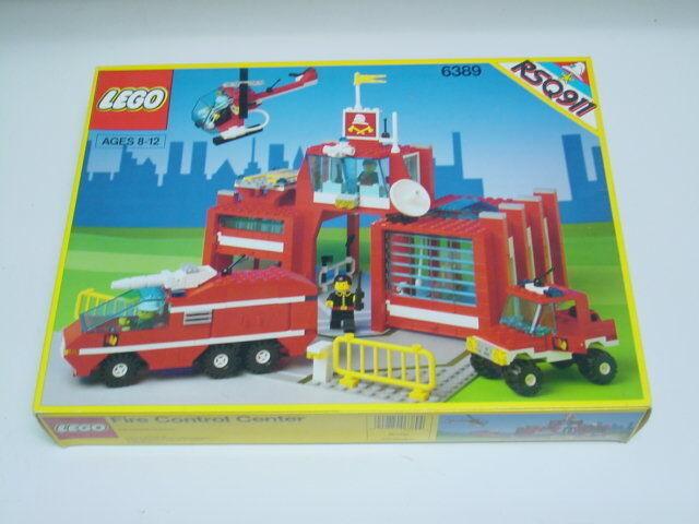 Nuevas Lego Classic Town 6389 Control Centro Precintado Legoland