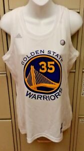new style 72ec3 690b4 Details about NBA GOLDEN STATE WARRIORS KEVIN DURANT ADIDAS WOMENS JERSEY  NBA4HER NEW NWOT