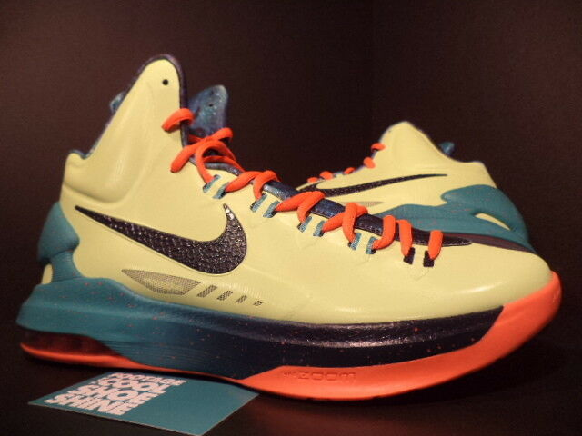 Nike zoom kevin durant kd / 5 come area 72 all - star lemon ossidiana crimson nuova 9