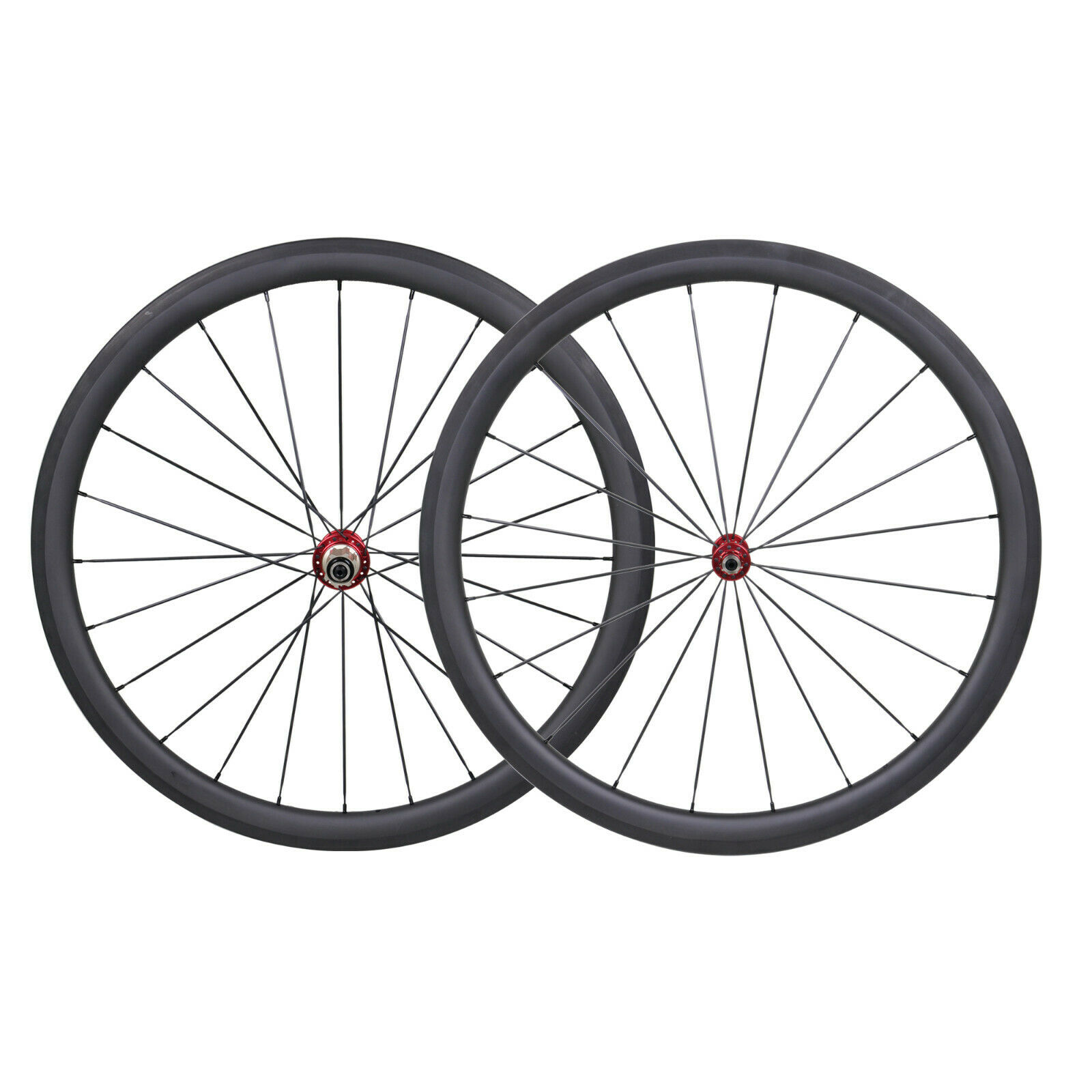 Kolhjul Tubular 38mm Road Bicycle UD Matt Rim broms 70C basalt Novatec