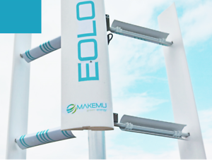 Details about Mini small home vertical axis wind turbine generator 3KW EOLO  3000 windmill VAWT