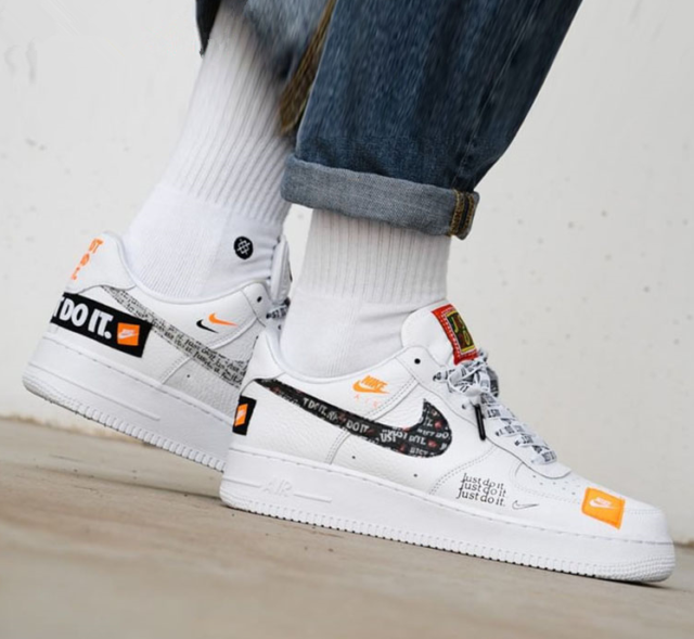 Nike Air Force 1 07 PRM JDI Sku #AR7719 100 | Nike air force