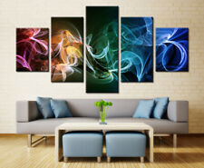 Wall Art Framework 5 Pieces Firefly Serenity Painting Abstract Movie Poster