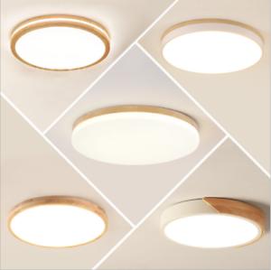 Details zu LED Deckenleuchte Rund Deckenlampe Schlafzimmer Badleuchte  Dimmbar Küchen Lampe