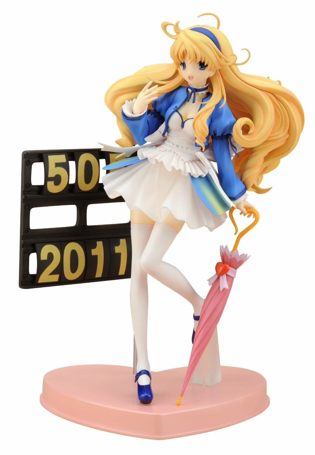Race Queen Alice (1 8 scale PVC Figure) Kotobukiya Kyosho Alice Motors Rare UK