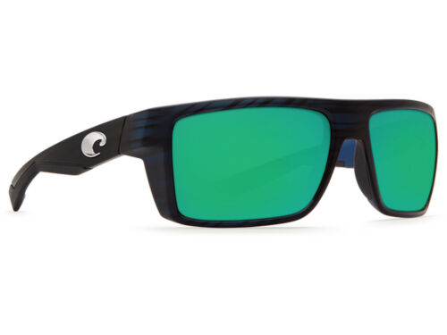 Green Mirror 580 Glass 580G NEW Costa Del Mar Motu Matte Black Teak