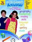 Daily Summer Activities, Moving from Fourth to Fifth Grade by Jill Norris, Jo Larsen (Paperback)