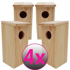 4x Nistkasten unbehandeltes FSC®-Holz