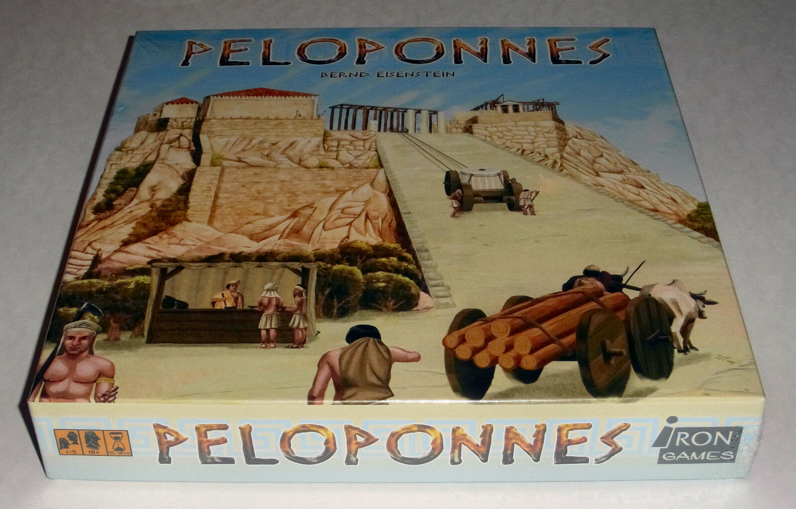 Peloponnes (4th Edition) + Expansions - Iron Games