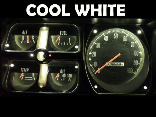 D350 Truck Gauge Cluster LED Dashboard Bulb Cool White For Dodge 72 80 D150