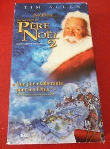 VHS-French-Movie-Sur-les-Traces-du-Pere-Noel-Tim-Allen