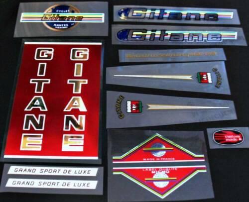 Gitane Grand Sport Bicycle Chrome Decal Set sku Gita-S101