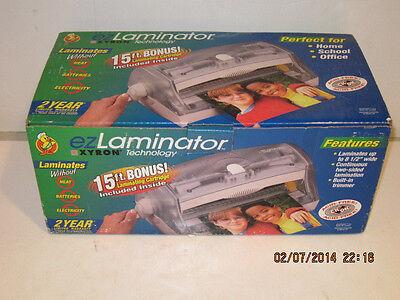 Xyron EZLaminator by Xyron Technology no heat, batteries.-FREE SHIPPING NIB!!!!!